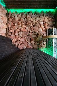 Rozenkwarts sauna