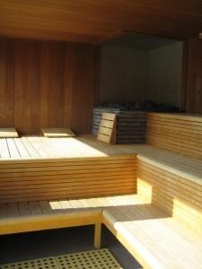 Panoramische sauna